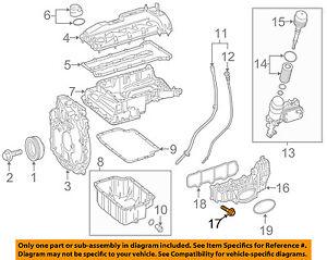 mercedes oem 14 17 sprinter 2500 2 1l l4 engine intake manifold bolt Honda Engine Diagram details about mercedes oem 14 17 sprinter 2500 2 1l l4 engine intake manifold bolt 0029905822