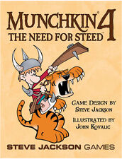 Munchkin 4: The Need For Steed Card Game Expansion Steve Jackson Games