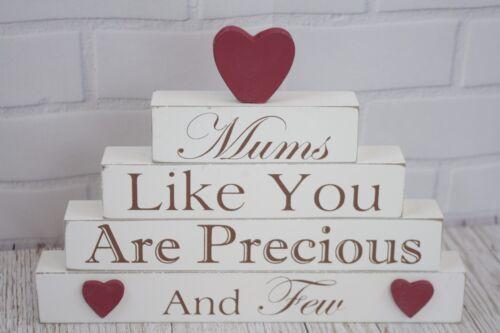 Mum Plaque EMUM comme vous êtes précieux /& quelques autoportante SIGNE crème 22 cm F1060