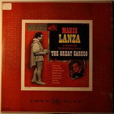 Mario Lanza Great Caruso US 1953 1st Red Seal Mono LP