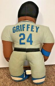 KEN-GRIFFEY-JR-24-SEATTLE-MARINERS-MLB-Plush-Doll-w-ACE-Tag-RARE