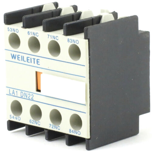 Electrical Equipment & Supplies Auxiliary Contact Block Front ...