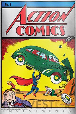 SOLID SILVER PREMIUM SILVER FOIL 35 GRAMS SUPERMAN #1 2018 DC COMICS