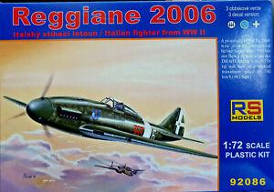 Reggiane-Re-2006-Italian-WWII-Fighter-RS-Models-Kit-1-72-92086-Nuovo