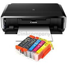 CANON Pixma IP7250 Tintenstrahldrucker DRUCKER FOTODRUCKER CD-BEDRUCK + 5x XL