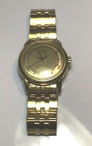 Tissot-Vintage-Automatic-14K-Gold-Watch-Runs-And-Keeps-Time