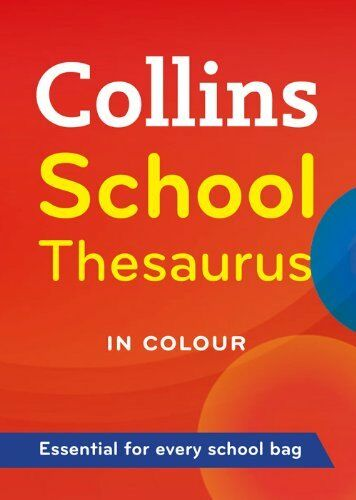 Collins School - Collins School Thesaurus by , Acceptable Book (Paperback) Fast
