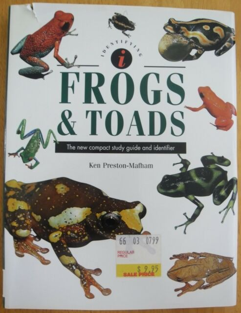 FROGS AND TOADS...KREN PRESTON MAFHAM...80 PAGES...VERY GOOD COPY....1999