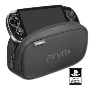 Details about Official SONY Playstation PS VITA Soft Travel Protective Case  Pouch Bag (NEW)
