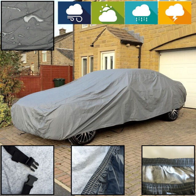 Heavy Duty Cotton Lined MERCEDES-BENZ SLK AMG 12-ON Fully Waterproof Car Covers