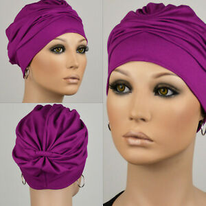 Damen Turban Kopfbedeckung Fashion JUSTFOX