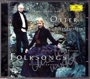 Anne-Sofie-VON-OTTER-Signed-FOLKSONGS-Dvorak-Kodaly-Britten-Grainger-Larsson-CD
