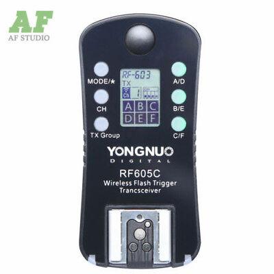1pcs Yongnuo Wireless Flash Trigger RF-605 Transceiver for RF-603 RF-602 Canon