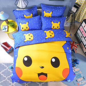 POKEMON-CATCH-DOUBLE-DUVET-COVER-SET-NEW-PIKACHU-GO-BEDDING-KIDS-CHILDREN