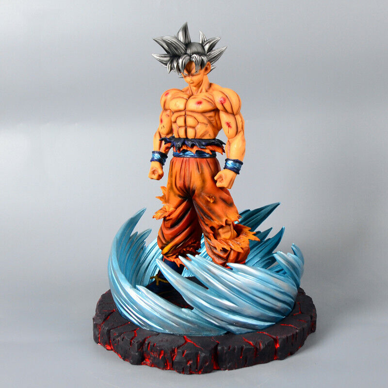 Dragon Ball Super Z Goku clave de egoísmo Resin Figure Estatua Modelo Figuritas