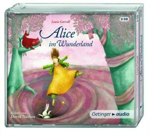 LEWIS-CARROLL-ALICE-IM-WUNDERLAND-3-CD-NEW