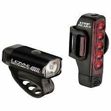 Lezyne Hecto Drive 400XL / Strip Drive 150 Road Bike Cycling Light Set