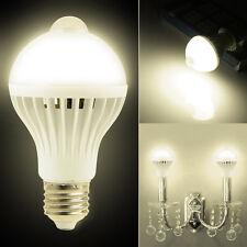 E27 5W AC 85-265V PIR Infrared Motion Sensor LED Light Bulb Energy Saving Lamp