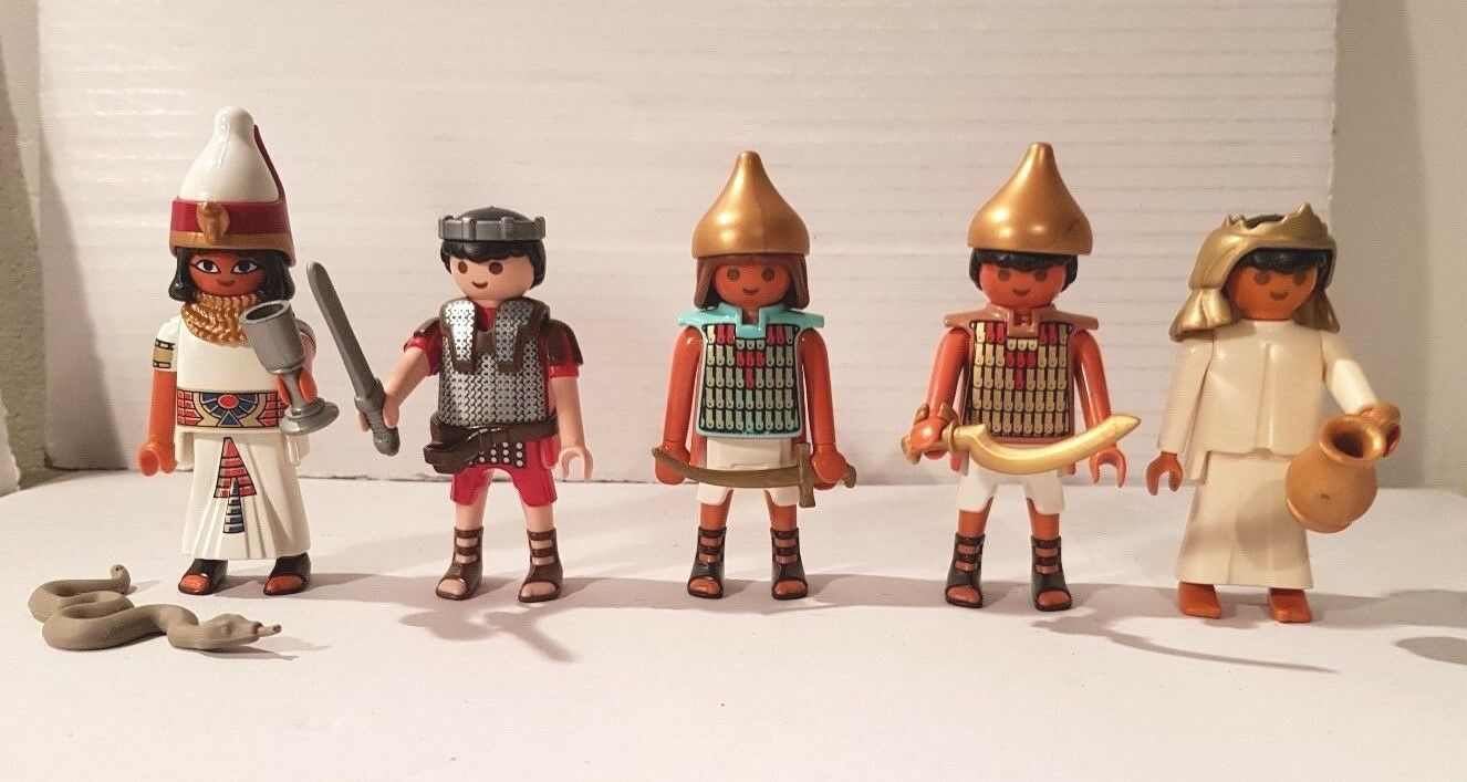 Playmobil 5 egipcios Cleopatra & Marcus Marcus Marcus antonio egipto Egypt Romans 0c4bbb