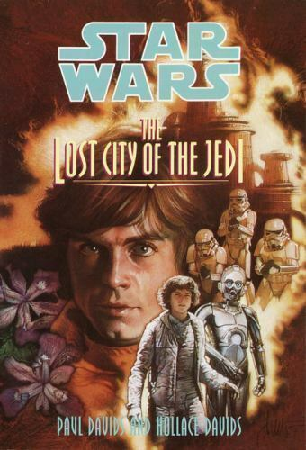 1 of 1 - The Lost City of the Jedi - Acceptable - Davids, Paul - Paperback