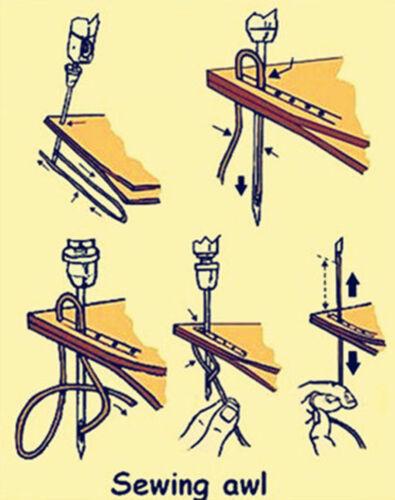 7kind Leather Craft Automatic Lock Speedy Stitcher Awl Thread Bobbin Needle Tool