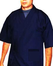 Popular Sushi Chef Coat Sushi Server Jackets Japanese Happi Coats Dark Blue