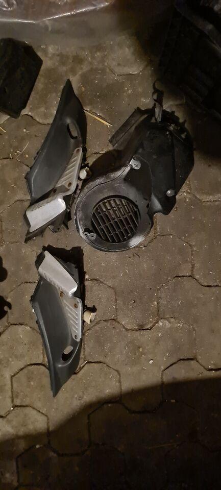 Blandet scooter dele