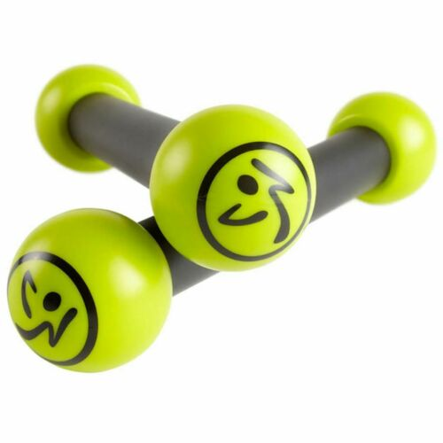 Teile & Zubehör Toning Sticks Set Fitness Rasseln Hanteln 0,5 kg Grün Grau ZUM010 Fitness & Jogging Zumba 2-tlg