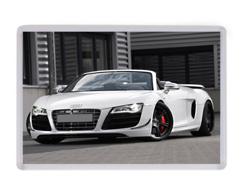 Audi R8 Spyder Fridge Magnet Birthday Fathers Mothers Day Christmas Gift Present