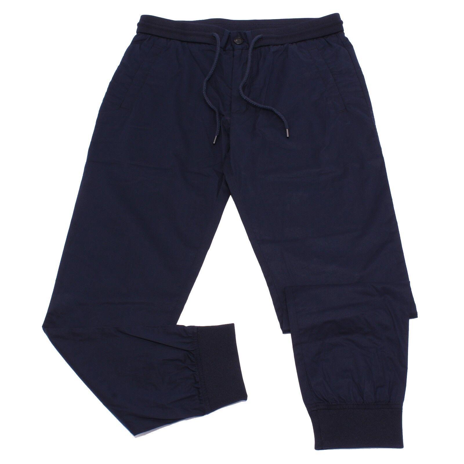 5655Y pantalone uomo blu ARMANI JEANS cotton trouser man