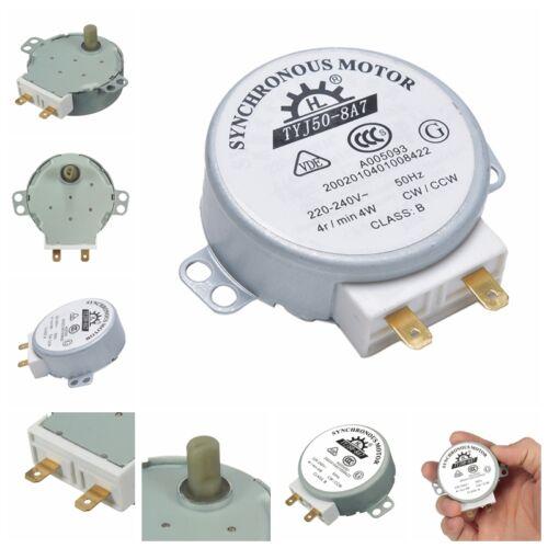 CW//CCW microondas placa giratoria girar tabla motor TYJ50-8A7D eje