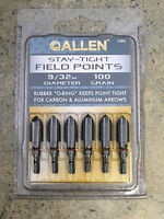 Allen Stay-tight Bullet Points 9/32 6 Per Pack 100 Grain Stay Tight O-ring 1483