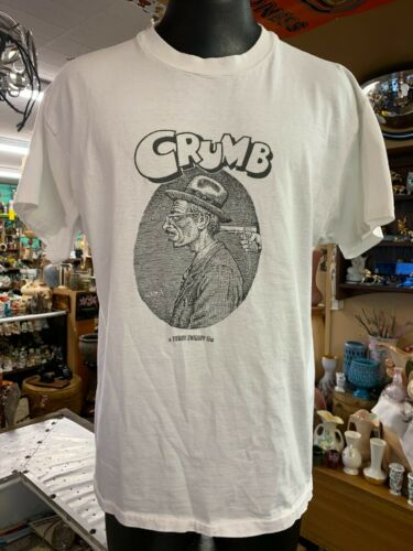 Vintage 1994 R Crumb Movie Promo T-Shirt Men's XL