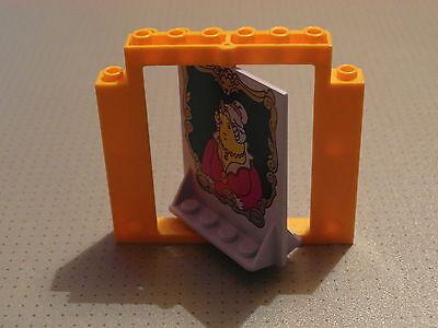 Lego GMT04 40253 30102 Revolving Door Orange and Fat Lady Pattern