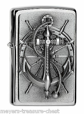 awesome ZIPPO Nautic Emblem rare emblem collectible awesome lighter