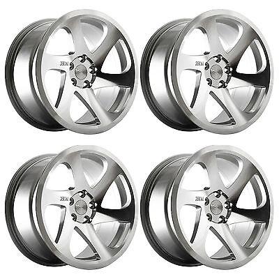 """4 x 3SDM 0.06 Silver / Cut Polished Alloy Wheels - 5x112   18x8.5""""   ET42"""