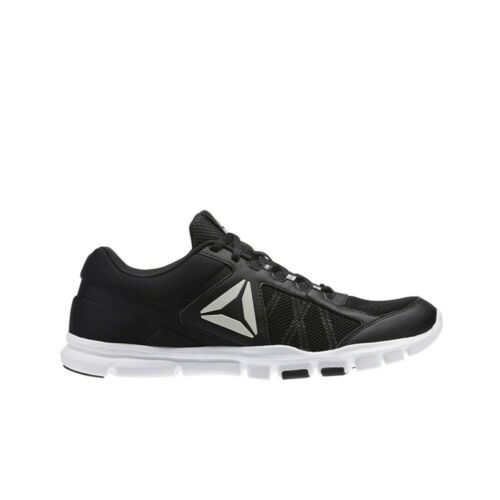 Men/'s Shoes Black//White//Skull Grey Reebok Yourflex Train 9.0 MT