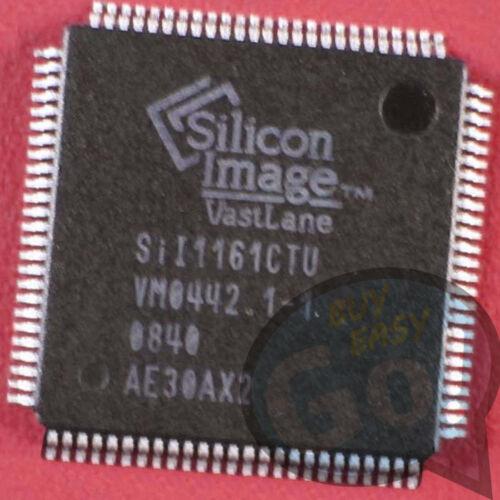 NEW 10PCS SII1161CTU Manu:SILICON Encapsulation:QFP-100,PanelLink Receiver