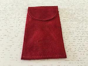 Nouvelle Mode Used - Travel Case Cartier Estuche De Viaje - 10 X 5,7 Cm Red Color Rojo - Usado Couleurs Fantaisie