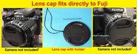 Lens Cap Directly To Fuji S3200 S3250 S3280 S3300 Hd Finepix Fujifilm+holder