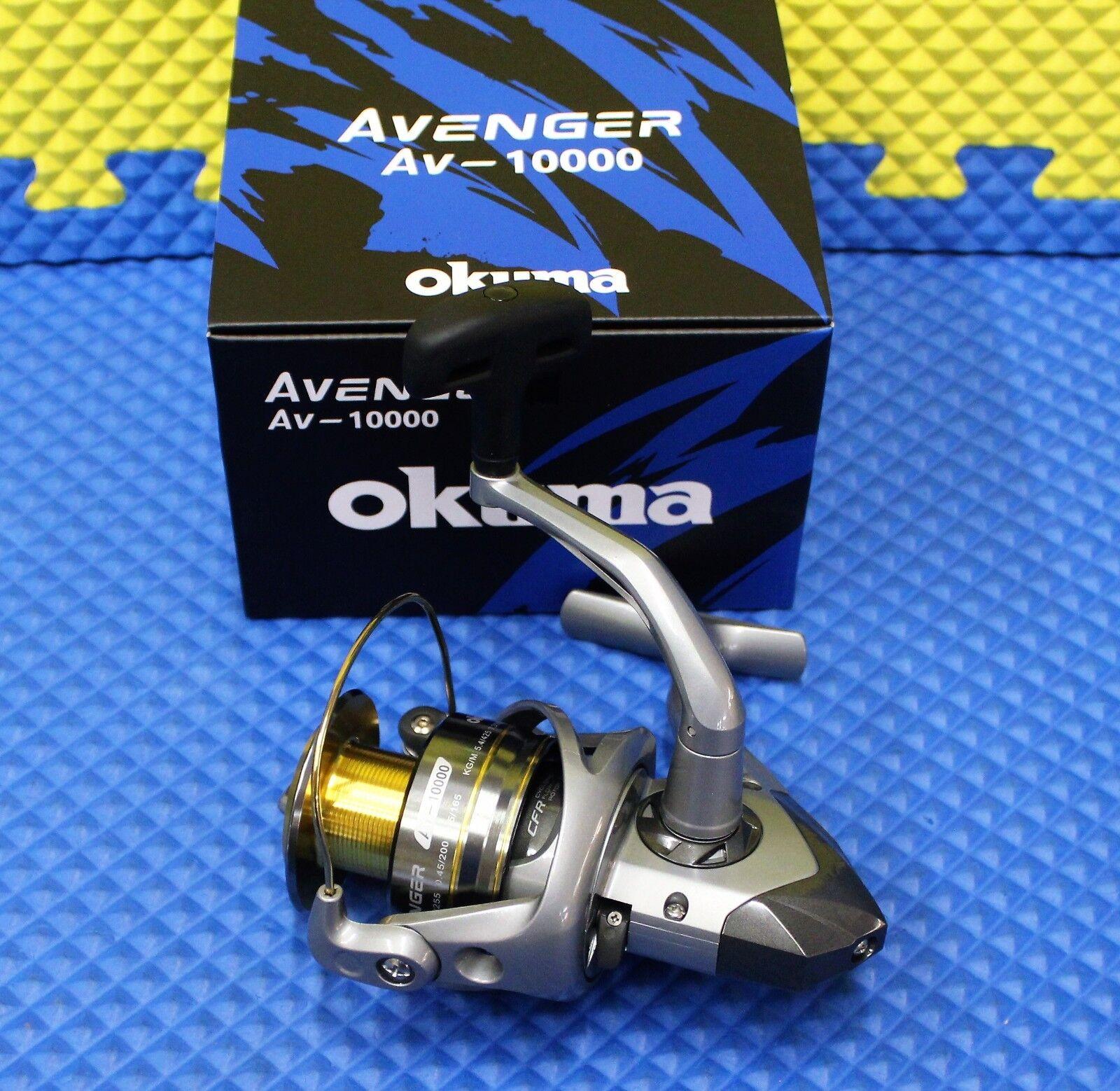 Okuma Avenger AV10000 Spinning Reel NEW FOR 2019 AV10000