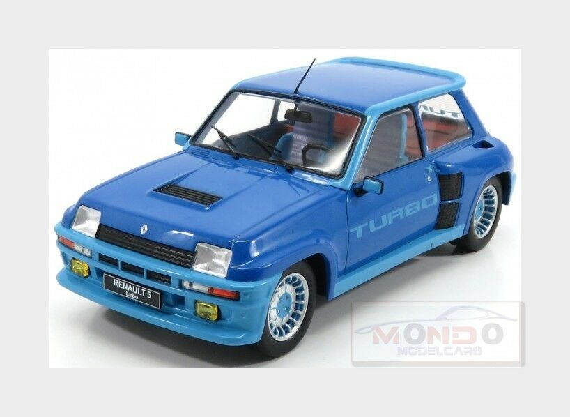 Renault R5 Turbo 1981 bluee Met IXO 1 18 18CMC005 Model