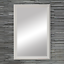 thumbnail 14 - Framed Wall Mirror - Black, White, Espresso/Brown, Nickel