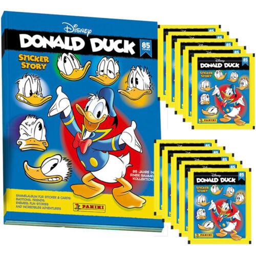 10 Tüten Donald Duck Sticker Story 85 Jahre