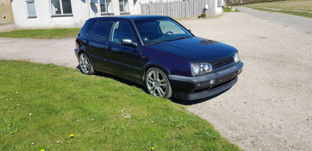 VW Golf III, 2,8 VR6, Benzin, 1992, km 258000, sort,…