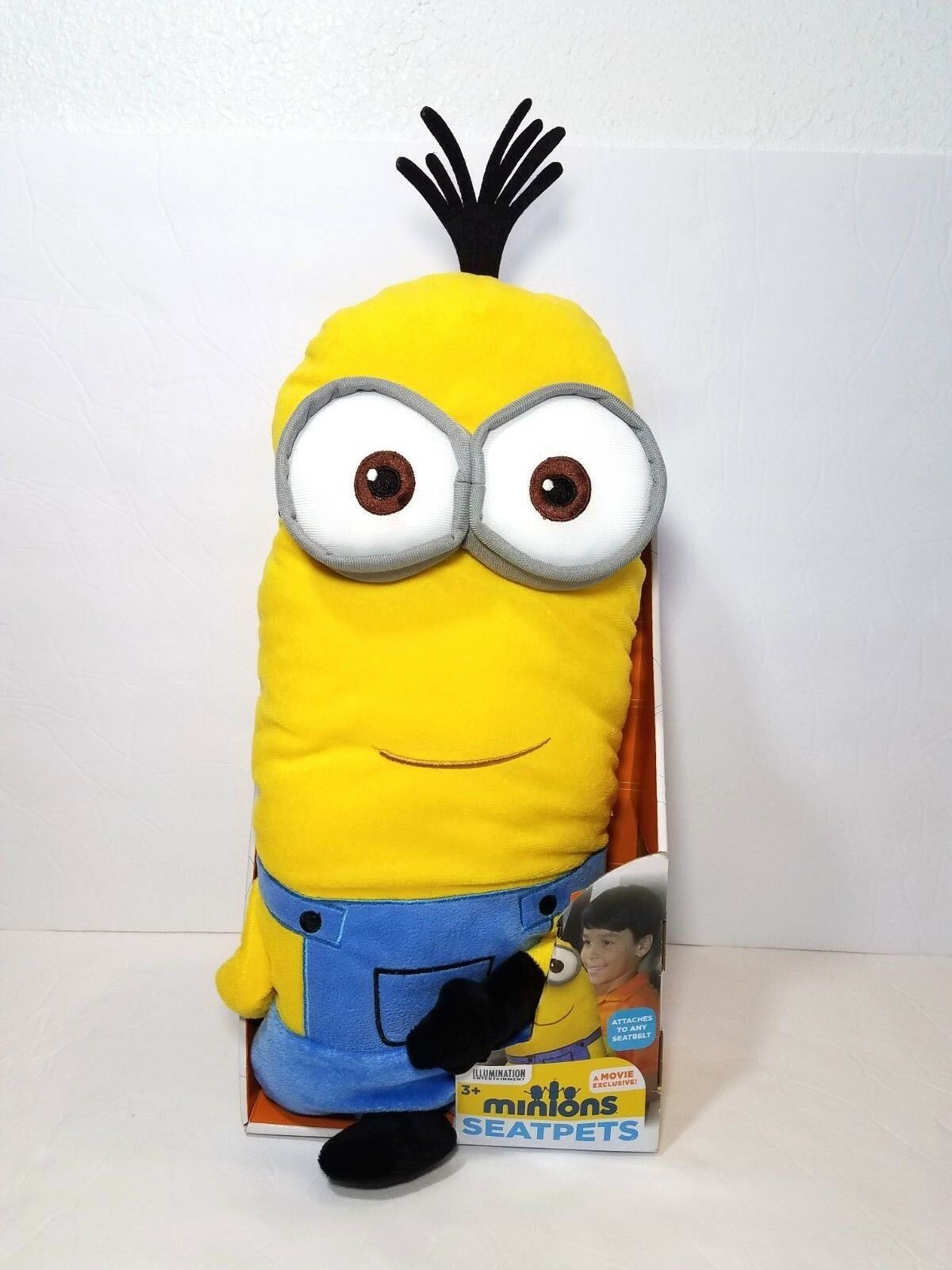 Nuovo Minions 17  SeatPets SeatPets SeatPets Plush Stuffed Animal giocattolo Attach Seat belt Gift for Kid a6cc4e