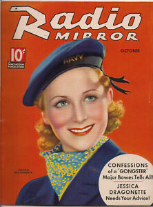 RADIO-MIRROR-OCT-1935-JESSICA-DRAGONETTE-TCHETCHET-cover
