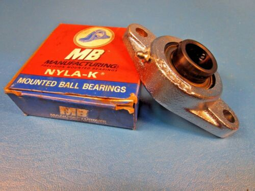 "MB Ball Bearing NFC2251, P64349, 2Bolt Flange Unit, 1"" Shaft, Set Screw Locking"