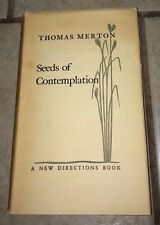 Seeds of Contemplation (Thomas Merton), 6th Printing 1949, A New Directions Book