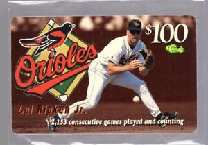 1996-Classic-Baseball-Phone-Card-CAL-RIPKEN-JR-Baltimore-Orioles-Not-used